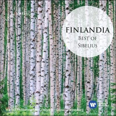 핀란디아 - 시벨리우스 베스트: 카렐리아 서곡과 모음곡, 튜오넬라의 백조, 포욜라의 딸 외 (Finlandia - Best of Sibelius: Swan of Tuonela, Karelia Overture, Pohjola's Daughter)