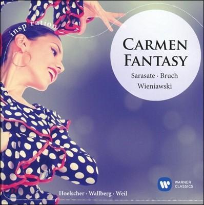 Ulf Hoelscher 카르멘 환상곡 - 사라사테: 치고이너바이젠 / 브루흐: 바이올린 협주곡 / 비에냐프스키: 화려한 폴로네즈 (Carmen Fantasy - Sarasate: Zigeunerweisen / Bruch: Concerto / Wieniawski: Polonaise Br