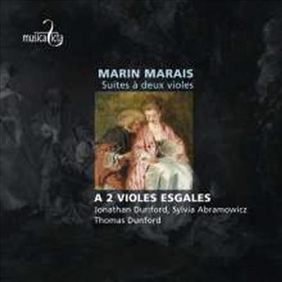 마린 마레: 두대의 비욜을 위한 모음곡 (Marin Marais : Suites A Deux Violes) - Jonathan Dunford