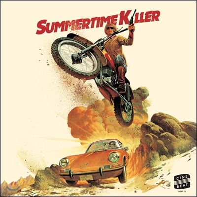 Summertime Killer (썸머타임 킬러) OST (Colonna Sonora Original Del Film) (LP Miniature)