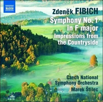 Marek Stilec 피비히: 관현악 작품 1집 - 교향곡 1번, 전원에서의 인상 (Zdenek Fibich: Symphony No.1, Impressions from the Countryside) 마렉 슈틸레츠