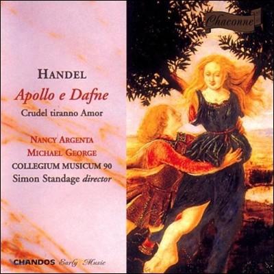 Nancy Argenta / Michael George 헨델: 칸타타 '아폴로와 다프네' (Handel: Cantatas 'Apollo e Dafne', 'Crudel Tiranno Amor')
