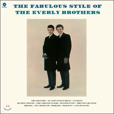 The Everly Brothers (더 에벌리 브라더스) - The Fabulous Style of [LP]