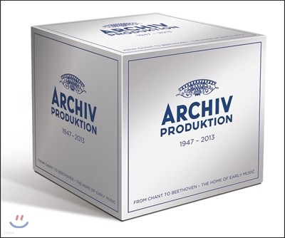 아르히프 아날로그 스테레오 LP시대 1959-1981 (Archiv Produktion - Analogue Stereo Recordings 1959-1981)