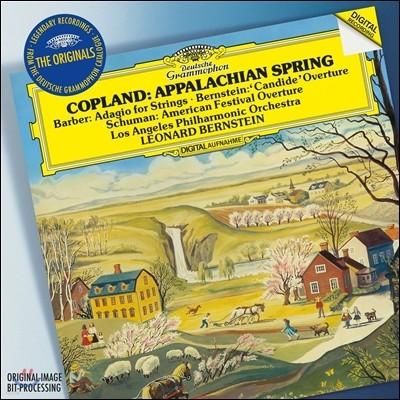 Leonard Bernstein 코플랜드: 아팔라치아의 봄 / 바버: 현을 위한 아다지오 / 레너드 번스타인: 캔디드 서곡 (Copland: Appalachian Spring / Barber: Adagio / Bernnstein: Candide)
