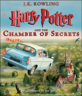 Harry Potter and the Chamber of Secrets : Illustrated Edition (미국판)