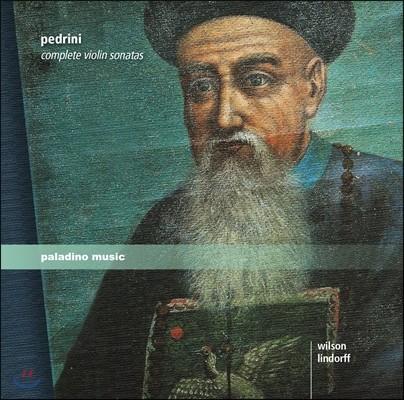 Nancy Wilson 테오도리코 페드리니: 바이올린 소나타 전곡 (Teodorico Pedrini: Complete Violin Sonatas Op.3 Nos.1-12) 낸시 윌슨, 조이스 린도르프