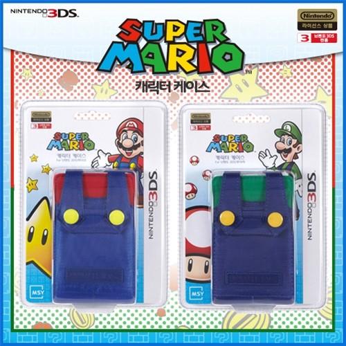[3DS 주변기기]캐릭터케이스 for 닌텐도3DS (마리오/루이지)