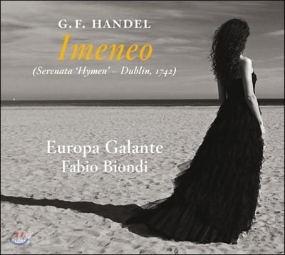 Fabio Biondi / Ann Hallenberg 헨델: 오페라 '이메네오' [1742년 더블린에서의 세레나데 편성 버전] - 파비오 비온디, 에우로파 갈란테, 안 할렌베르크(Handel: Opera 'Imeneo')