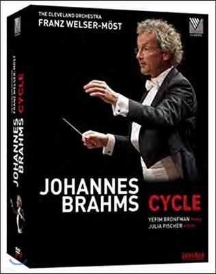 Franz Welser-Most 브람스 사이클: 교향곡 전곡, 협주곡, 서곡, 변주곡 - 프란츠 뵐저-뫼스트 (Brahms Cycle: Symphonies, Concertos, Overtures, Variations)