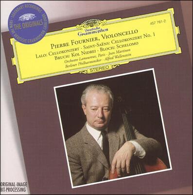 Pierre Fournier 피에르 푸르니에 첼로 협주곡 - 랄로 / 생상스 / 브루흐 / 블로흐 (Lalo / Saint-Saens / Bruch / Bloch: Cello Concertos)
