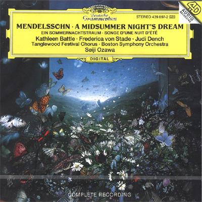 Seiji Ozawa 멘델스존: 한여름밤의 꿈 (Mendelssohn: A Midsummer Night's Dream) 세이지 오자와