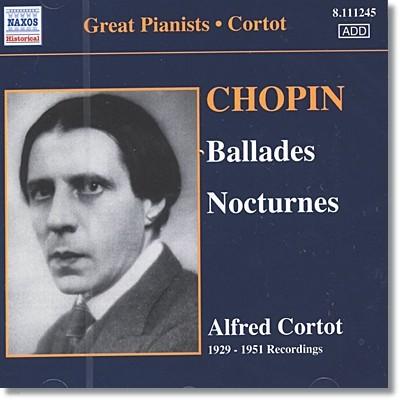 Alfred Cortot 쇼팽: 발라드, 녹턴 (Chopin: Ballades, Nocturnes) 알프레드 코르토