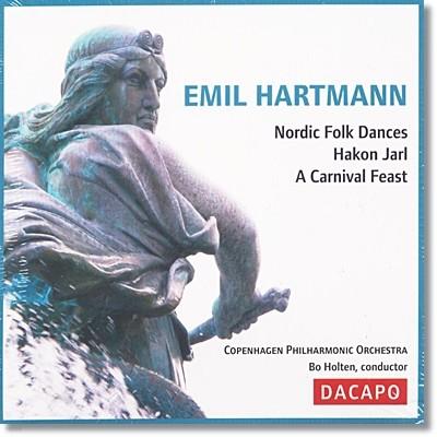 하르트만 : 노르딕 민속 춤곡, 교향시 '하콘 야를', 카니발 축제 모음곡