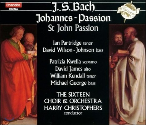 The Sixteen / Ian Partridge 바흐: 요한 수난곡 (Bach: Johannes-Passion [St John Passion] BWV245)