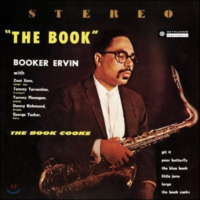 Booker Ervin - The Book Cooks (LP 미니어처 에디션)
