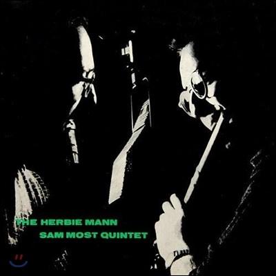 Herbie Mann, Sam Most - Herbie Mann-Sam Most Quintet (LP 미니어처 에디션)