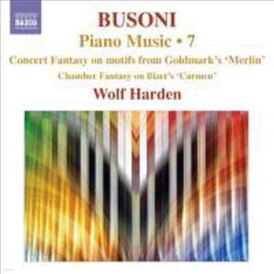 부조니 : 소나티나 3, 6번, 돈조반니 변주곡 & 바그다드의 이발사 판타지 외 (Busoni : Piano Music Volume 7) - Wolf Harden