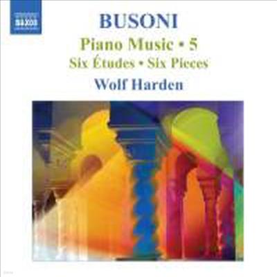 부조니 : 6개의 연습곡, 6개의 소품 & 쇼팽 변주곡 (Busoni : Piano Music Volume 5) - Wolf Harden
