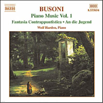 부조니 : 피아노 음악 1집 (Busoni : Piano Music, Vol.1) - Wolf Harden