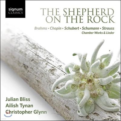 Ailish Tynan / Julian Bliss 바위 위의 목동 - 브람스 / 쇼팽 / 슈베르트 / 슈만 / 슈트라우스: 실내악과 가곡집 (The Shepherd on the Rock - Chamber Works & Lieder)