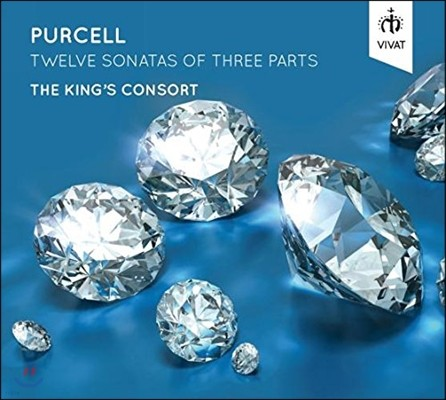 The King's Consort 퍼셀: 3성부를 위한 12개의 소나타 (Purcell: Twelve Sonatas of Three Parts)