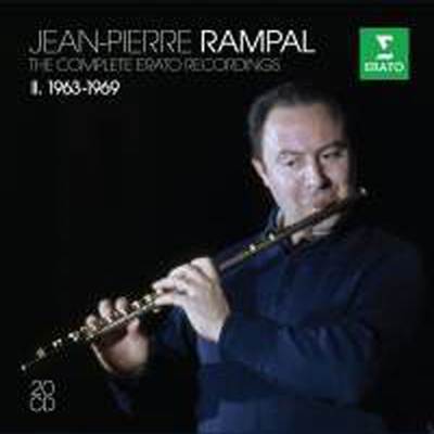 장 피에르 랑팔 - 에라토 녹음 2집 (Jean-Pierre Rampal - The Complete Erato Recordings Vol. 2 1963-1969) (20CD Boxset) - Jean-Pierre Rampal