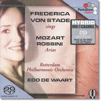 Frederica Von Stade 프레데리카 폰 슈타테 - 로시니 / 모차르트 : 아리아집 (sings Mozart & Rossini Arias)
