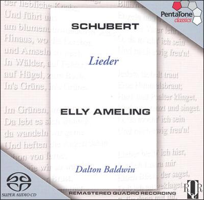 슈베르트 : 가곡집 - 엘리 아멜링 (SACD)