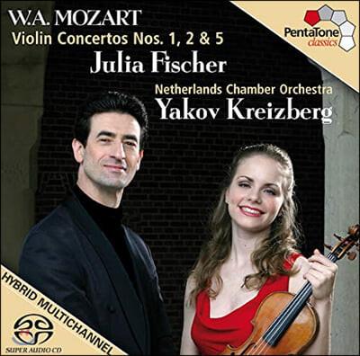 Julia Fischer 모차르트 : 바이올린 협주곡 1,2번 - 율리아 피셔
