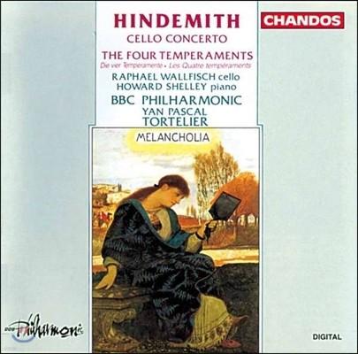 Howard Shelley / Raphael Wallfisch 힌데미트: 첼로 협주곡, 네 가지 기질 (Paul Hindemith: Cello Concerto, Four Temperaments) 하워드 쉘리, 라파엘 월피쉬