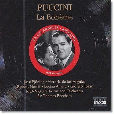 푸치니 : 라보엠 (1956년 녹음) - 빅토리아 로스 데 앙헬레스, 토마스 비첨