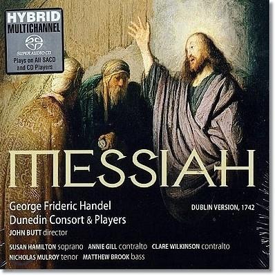 John Butt 헨델 : 메시아 [더블린 초연 판본] 더니든 콘소트, 존 버트 (Handel: Messiah)