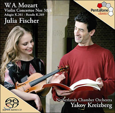 Julia Fischer 모차르트: 바이올린 협주곡 3,4번 (Mozart: Violin Concertos Nos.3 & 4) 율리아 피셔