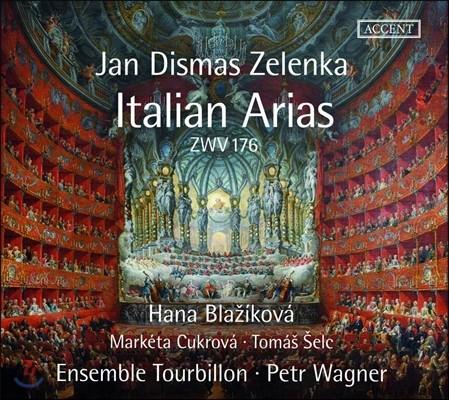 Hana Blazikova 젤렌카: 이탈리아 아리아들 (Jan Dismas Zelenka: 8 Italian Arias ZWV176) 하나 블라치코바, 앙상블 투르비용