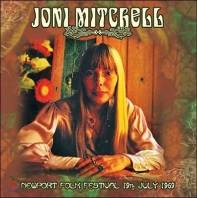 Joni Mitchell (조니 미첼) - Newport Folk Festival 19th July 1969 [LP]