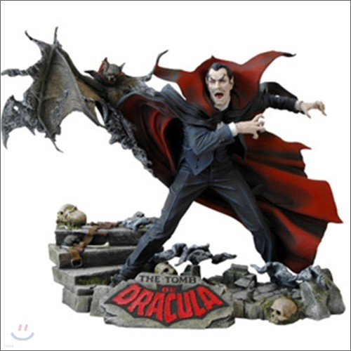 Marvel Milestones Tomb Of Dracula Statue : 드라큘라 마블 스테츄
