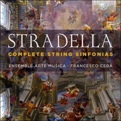 Arte Musica 알레산드로 스트라델라: 현악 협주곡 [신포니아] 전집 (Alessandro Stradella: Complete String Sinfonias Nos.1-9)