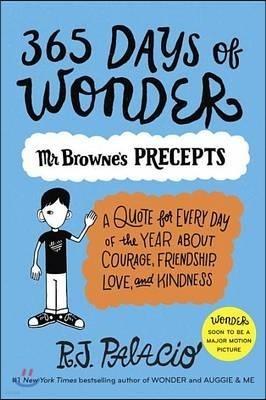 365 Days of Wonder '원더' 시리즈 두번째 책