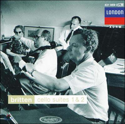 Mstislav Rostropovich 브리튼: 무반주 첼로 모음곡, 첼로 소나타 (Britten: Cello Suites and Cello Sonata)