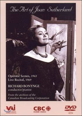 조안 서덜랜드의 예술 - 1963년 오페라틱 장면 , 1969년 라이브 리사이틀 (The Art of Joan Sutherland - Operatic Scenes 1963, Live Recital 1969)