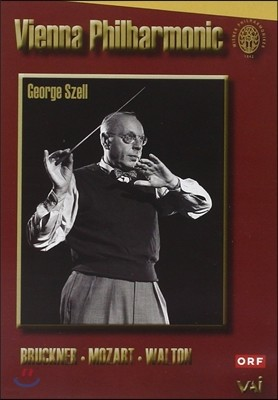 George Szell 조지 셀이 지휘하는 비엔나 필하모닉 - 브루크너 / 모차르트 / 월튼 (Vienna Philharmonic - Bruckner / Mozart / Walton)
