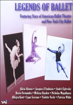 발레의 전설: 1960-65년의 스타들 - 아메리칸 발레 시어터, 뉴욕 시티 발레단 출연 (Legends Of Ballet: Bell Telephone Hour Telecasts - American Ballet Theatre, New York City Ballet)