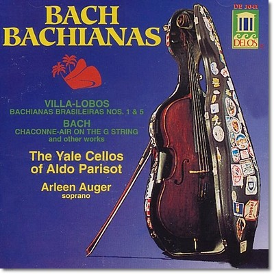Yale Cellos /Aldo Parisot / Arleen Auger 바흐 가문의 음악들 (Bach Bachianas)