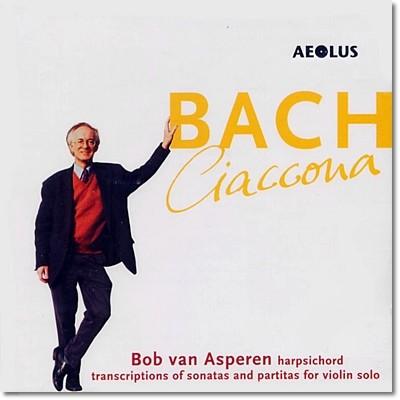 Bob van Asperen 바흐: 샤콘느 [하프시코드 연주반] (Bach: Chaconne) 봅 판 아스페렌