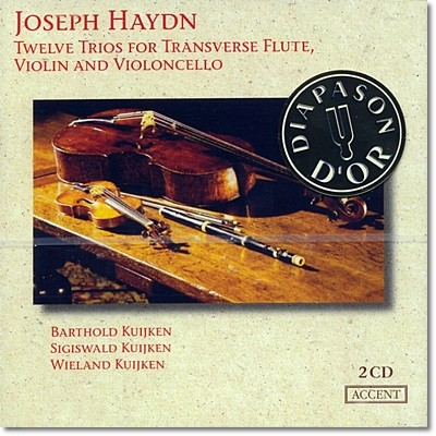 Barthold / Sigiswald Kuijken 하이든 : 플루트 트리오 (Haydn: 12 Trios for transverse flute, violin & cello)