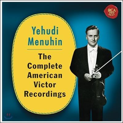 Yehudi Menuhin 예후디 메뉴인 - 미국 빅토르 레코딩 전집 (The Complete American Victor Recordings)