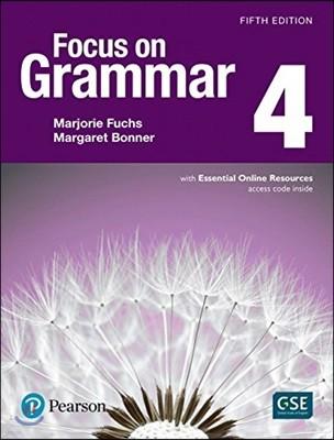 Focus on Grammar 4 : Student Book, 5/E