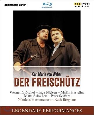 Nikolaus Harnoncourt 폰 베버: 오페라 '마탄의 사수 [자유의 사수]' - 루트 베르그하우스 연출 (Carl Maria von Weber: Der Freischutz)