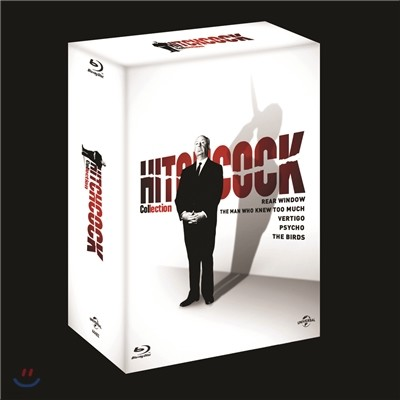 알프레드 히치콕 마스터피스 콜렉션 박스세트 (5Disc) : 블루레이